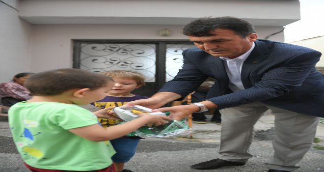 Başkan Dündar, Demirkapı Mahallesi'ni Ziyaret Etti