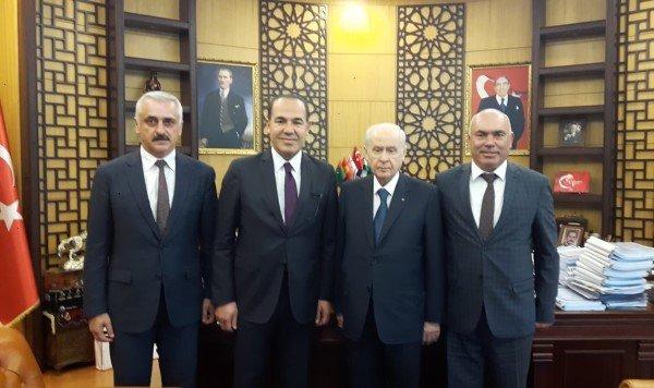 MHP Lideri Bahçeli'ye Kızıldağ Karakucak Güreşleri Daveti