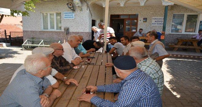 Belediye Başkanımız İrfan Tatlıoğlu mahalle ziyaretlerini sürdürüyor
