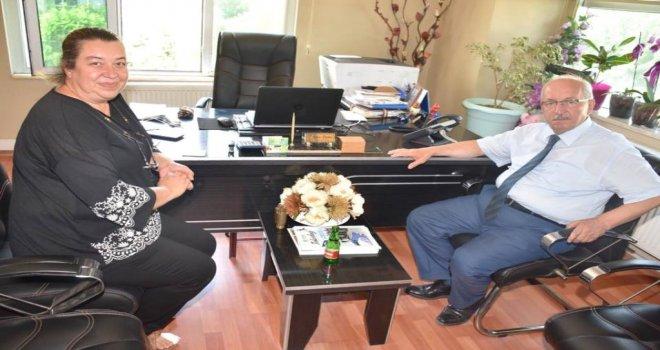 Başkan Albayrak'tan Özlem Ertekin'e Ziyaret