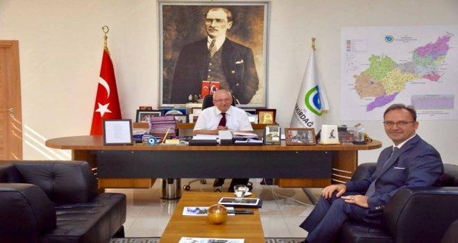 Tekirdağ İl Kültür ve Turizm Müdürü Hakan Cömertler'den Ziyaret