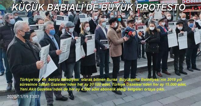 KÜÇÜK BABIALİ'DE BÜYÜK  PROTESTO