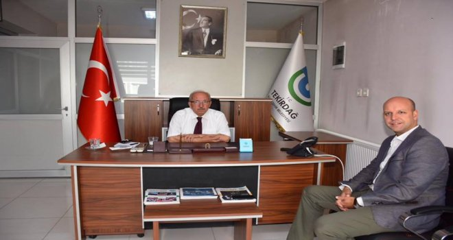 Hayrabolu Belediye Başkanı Fehmi Altayoğlu'ndan Ziyaret