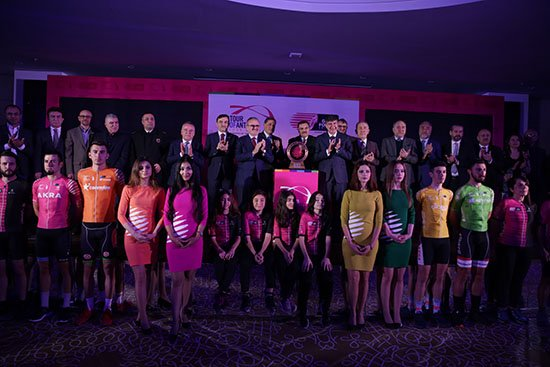 Türel Tour of Antalya lansmanına katıldı