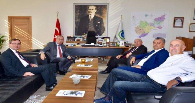 CHP Tekirdağ Milletvekili Faik Öztrak'tan Ziyaret