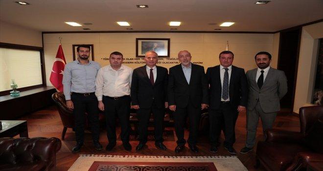 TÜRSAB'dan Başkan Osman Zolan'a ziyaret
