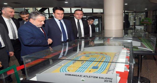 AK Parti İl Başkanı Salman'dan Dündar'a Ziyaret