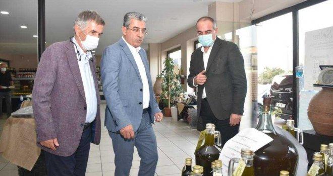 GEMLİKLİ ZEYTİN ÜRETİCİSİNE DE İBB'DEN DESTEK