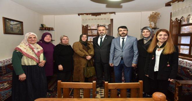 'Kadınlarımız Bursa'mızın gücüne güç katıyor'