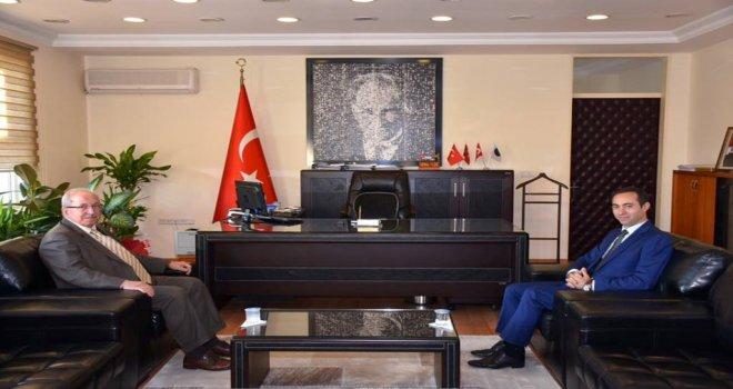 Şarköy Kaymakamı Kemal Yıldız'a Ziyaret