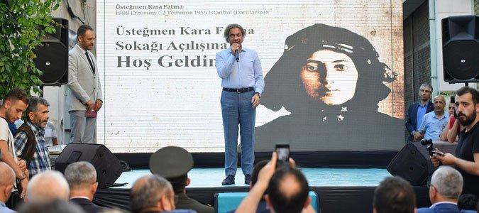 Kurtuluş Savaşı'nın Kadın Kahramanı Kara Fatma Beyoğlu'nda anıldı