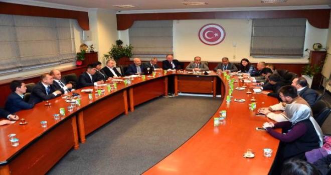 Kırgız Belediye Başkanları Bağcılar'da Bir Araya Geldi
