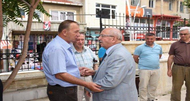 Başkan Albayrak Şaziye Eren'in Cenaze Törenine Katıldı
