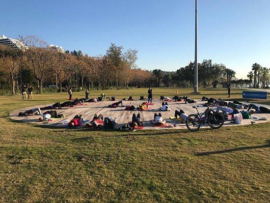 Büyükşehir'den Sabah Sporu