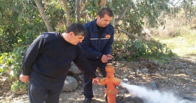 Yangın Hidrantlarının Bakımları Devam Ediyor