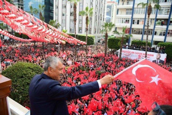 Başkan Zeydan Karalar :  ''Türkiye Cumhuriyeti, sonsuza kadar yaşayacaktır''