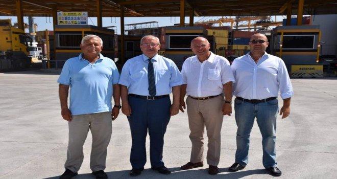 Başkan Kadir Albayrak'tan Asyaport'a Ziyaret