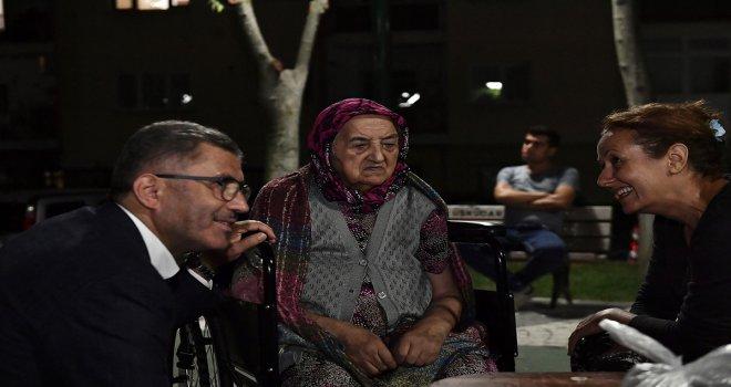 ÜSKÜDAR'DA SİTE BULUŞMALARI DEVAM EDİYOR