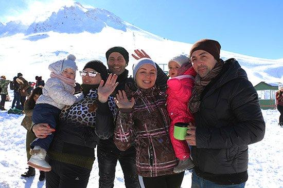 Büyükşehir Belediyesi sömestirde 1500 kişiyi Saklıkent'e taşıdı
