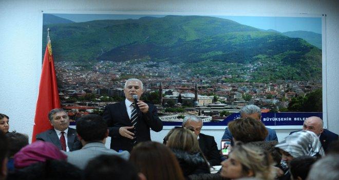 Bursa'ya kaybolan değerini yeniden kazandıracağız