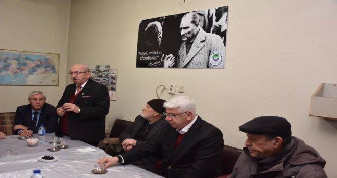 Başkan Albayrak Ergeneli Vatandaşlarla Buluştu