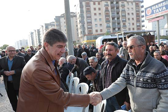 Türel: 'Avni Tolunay halkına müjde verdi'
