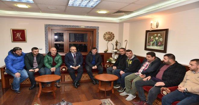 Taraftarlarla Bursaspor buluşması