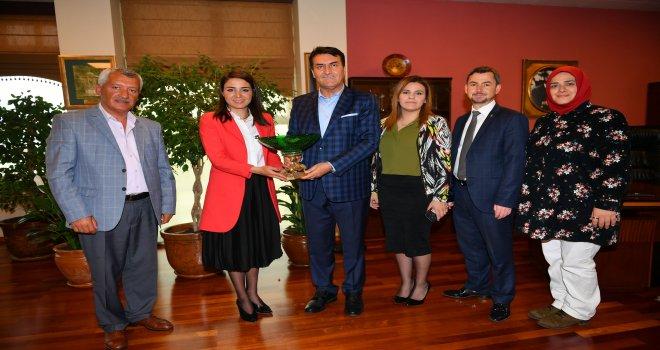 AK Parti Mudanya'dan Başkan Dündar'a Ziyaret