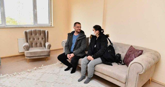 160 depremzede aile Uzundere konutlarına yerleşti