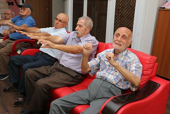 ' Mavi Ev'de Alzheimer Günü Kutlandı