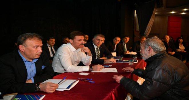 Başkan Bahadır ilk Halk Gününde vatandaşlarla buluştu