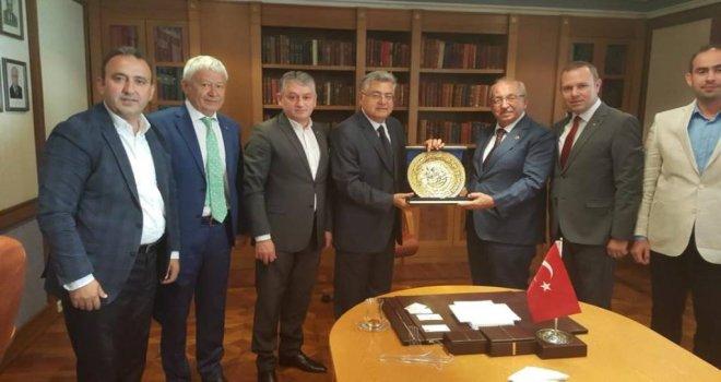 Başkan Kadir Albayrak'tan Moskova Büyükelçisi'ne Ziyaret