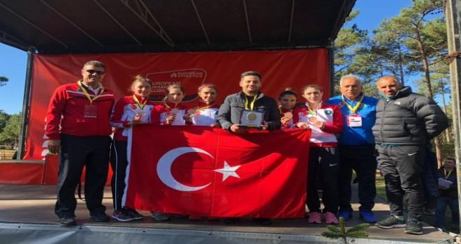 Bursa Büyükşehir, Avrupa 3.'sü…