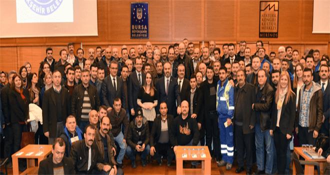 Başkan Aktaş: 'Bursa'da yeni hikayeler yazmalıyız'