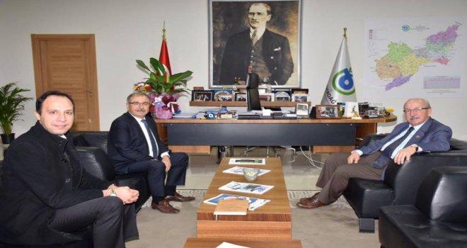Gelibolu Belediye Başkanı M. Mustafa Özacar'dan Başkan Albayrak'a Ziyaret