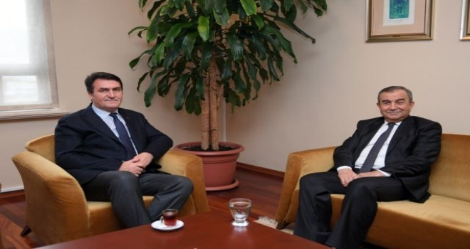 Başkan Dündar'a Veda Ziyareti