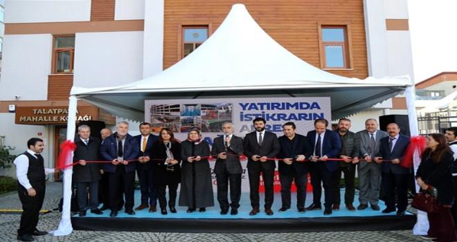 Talatpaşa Mahalle Konağı  içerisinde   Aile Sağlığı ve Halk Eğitim Merkezi açıldı.