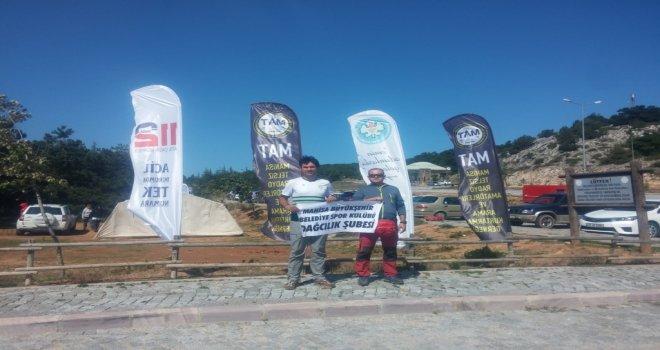 Büyükşehir Belediyespor'un Dağcıları, Dr. Bedri Bilge Eğitim Kampına Katıldı