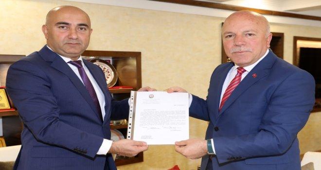 AZERBAYCAN DIŞİŞLERİ BAKANI MEMMEDYAROV'DAN SEKMEN'E TEŞEKKÜR MEKTUBU