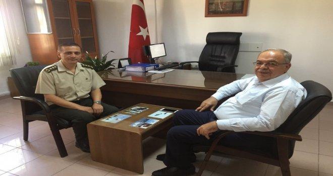 BAŞKANIMIZDAN, ALBAY GÜRFİDAN'A 'HAYIRLI OLSUN' ZİYARETİ