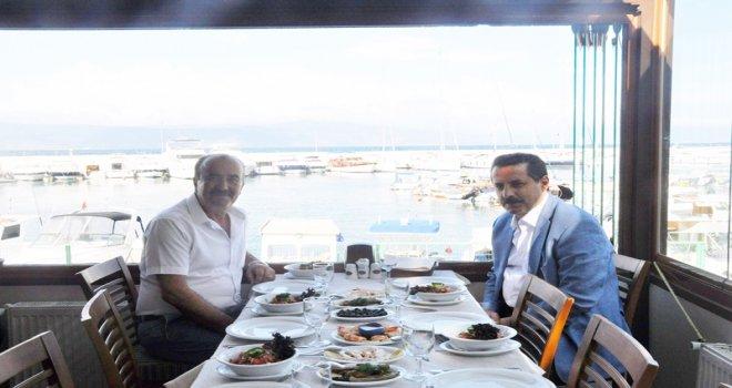 BAKAN ÇELİK'TEN BAŞKAN TÜRKYILMAZ'A ZİYARET