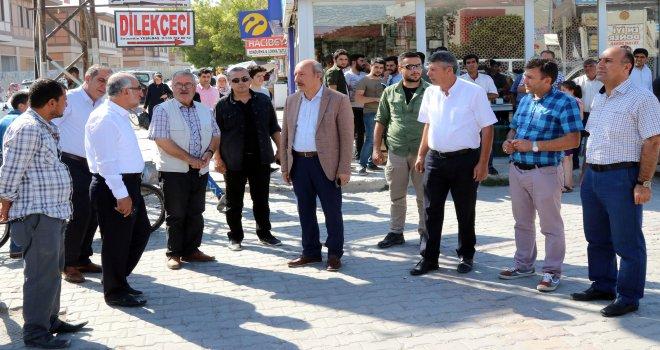 ERCİŞ'İN ULAŞIM SORUNLARI MASAYA YATIRILDI