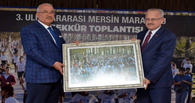 Başkan Kocamaz, Maratonun Teşekkür Toplantısını Gerçekleştirdi