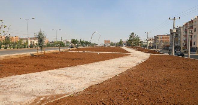 Ahmed Arif Parkı ikinci etabında çalışmalar devam ediyor