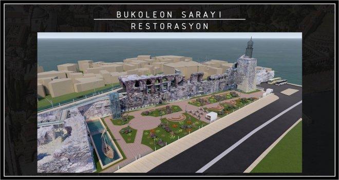 1610 YAŞINDAKİ BOUKOLEON (BİZANS) SARAYI'NI İBB RESTORE EDECEK