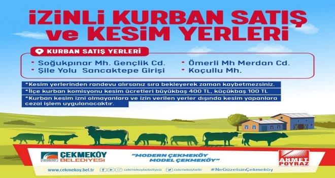 KURBAN BAYRAMI SATIŞ VE KESİM ALANL...