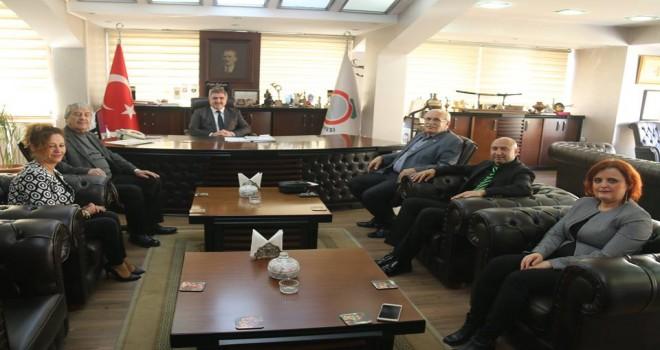 TEMA Vakfı Amasya İl Temsilciliği'nden Başkan Özdemir'e ziyaret.