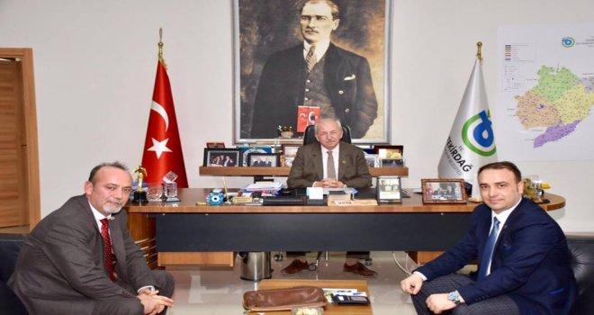 Tüm Yerel-Sen Genel Başkanı'ndan Başkan Albayrak'a Ziyaret