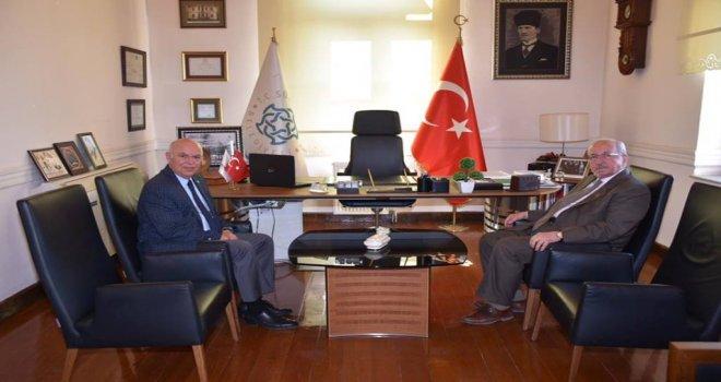 Başkan Albayrak'tan Ekrem Eşkinat'a Ziyaret