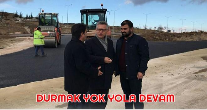 """Başkan Arslan,  """"Yozgat için son güne kadar çalışacağız"""" dedi."""